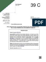 Proclamación Por Las Naciones Unidas de 2019 Año Internacional de La Tabla Periódica de Los Elementos Químicos
