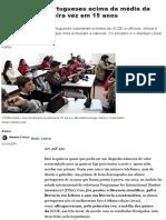 PISA. Alunos Portugueses Acima Da Média Da OCDE Pela Primeira Vez Em 15 Anos – Observador