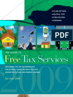 IRS Guide to Free Tax Services - Pub 910