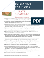 Louisiana's Way Home by Kate DiCamillo Discussion Guide