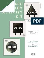 Shapes Trilogy by Mac Barnett and Jon Klassen Activity Kit