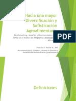 2016-Rossier-Hacia Una Mayor Diversificación y Sofisticación Agroalimentaria