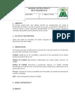 Manual de Procesos y Procedimiento