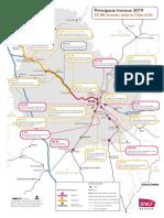 183 M€ d'investissements dans le ferroviaire en Bourgogne-Franche-Comté en 2019