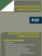 Curs 1 - Examinarea Pacientului