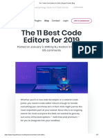 The 11 Best Code Editors for 2019 _ Elegant Themes Blog.pdf