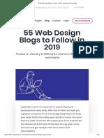 55 Web Design Blogs to Follow in 2019 _ Elegant Themes Blog.pdf