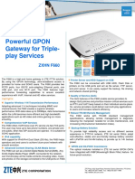 ZXHN F660 PON ONT Datasheet.pdf