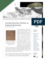 2010 11 30 Los Desvarios de z Sitchin La Estela de Naram Sin (Lampuzo.wordpress)