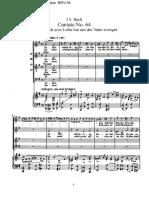 Cantata 64 - Bach