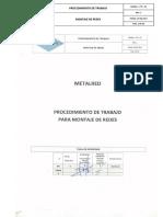01 - Procedimiento Montaje de Redes Rev 1.pdf
