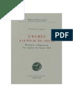 L Eubee a La Fin Du XVe Siecle. Economie-1