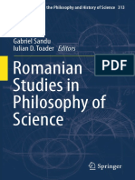 Romanian Studies in Philosophy