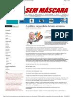 A Política Esquerdista de Terra Arrasada - MSM 20.03.2012