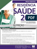 (s00255)Prova Objetiva - Saude Do Idoso - Nutrição