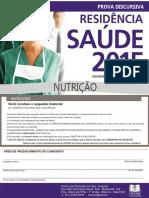 (s00255)Prova Discursiva - Saúde Do Idoso - Nutrição