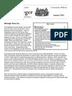 Senator Krueger's Community Bulletin - January 2019