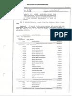 Line Item Vetoed Budget 2019