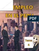 4 El Empleo en El Peru