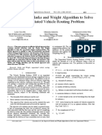 An Improved Clarke and Wright Algorithm to Solve the Capacitated Vehicle Routing Problem
