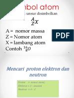 Nomor Atom Dan Nomor Massa