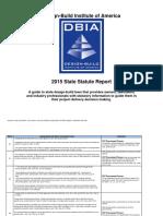 Statute report
