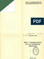 Mead Margaret-Sexo y Temperamento en Sociedades Primitivas-Vl