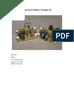 Cargador de Baterias de Plomo Acido Secas EXCELENTE