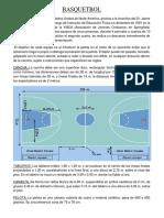 Teoria de Explicacion de Baloncesto
