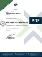 Informe Limpieza y Desinfeccion de Tanques - 04 Octubre 2018 (1)