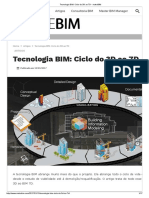 Tecnologia BIM Ciclo Do 3D Ao 7D