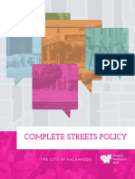 Kalamazoo Complete Streets Policy - Final