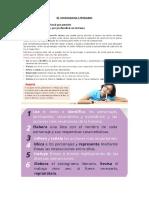 Guía de Trabajo y Ejercicios Sobre El Sociograma Literario