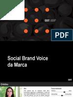 Faculdade IELUSC - Social Brand Voice e Personas