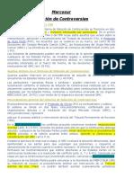 Mercosur-Solucion de Controversias