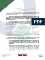 Posicionamiento de Onexpo Ante Los Retrasos en La
