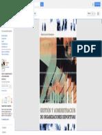 Gestión y Administración de Las Organizaciones Deportivas - Rubén Acosta Hernández - Google Libros