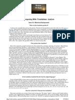 Comparing Bible Translations Analysis 1---Web.archive.org Web 20071012184943 Http Faith.propadeu