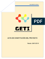 Project Charter Proyecto 2B