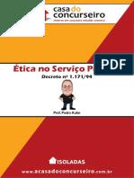 Isoladas Etica No Servico Publico Decreto 1.171 94 Pedro Kuhn