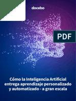 Docebo Aprendizaje Personalizado IA 2018