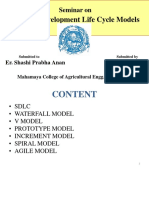Esha Poweroint Presentation of Sdlc Models