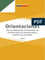 Orientaciones Conciliación trabajo-familia