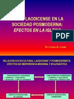 1) Laodicenses en La Sociedad Posmoderna