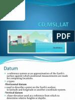 CD,MSL,LAT