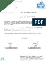 Certificado viguetas