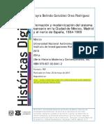 Formación y Modernización Del Sistema Bancario. Expansión de Instituciones Bancarias