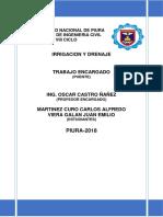 Analisis Estadistico de Datos Hidrologicos Del Puente Juan Pablo Segundo