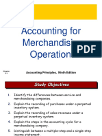 Ch05 Accounting for Merchandising Operations First New