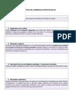 Estructura Del Aprendizaje Entre Escuelas